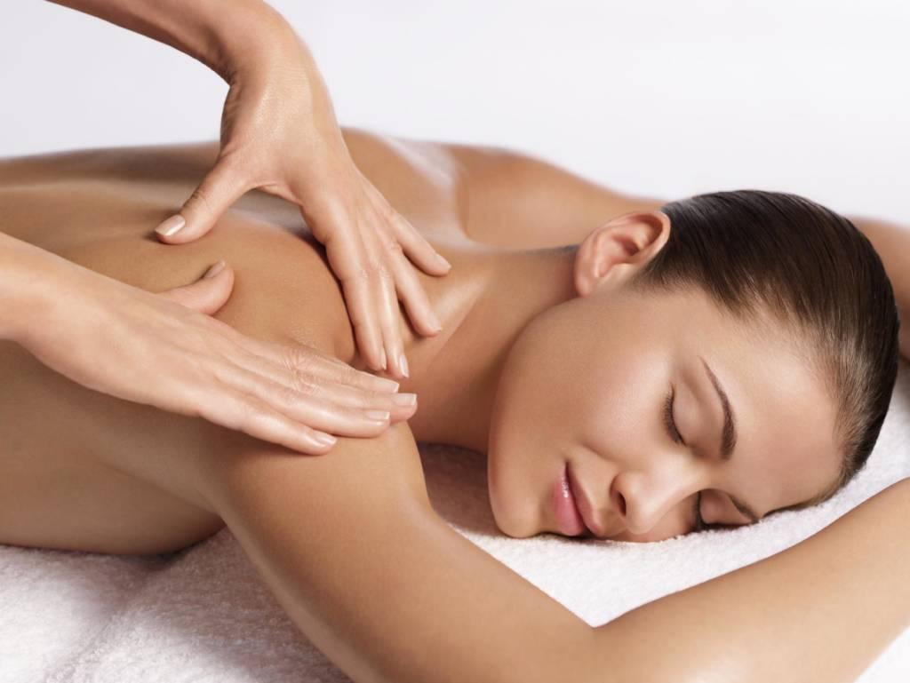 back neck & shoulder massage